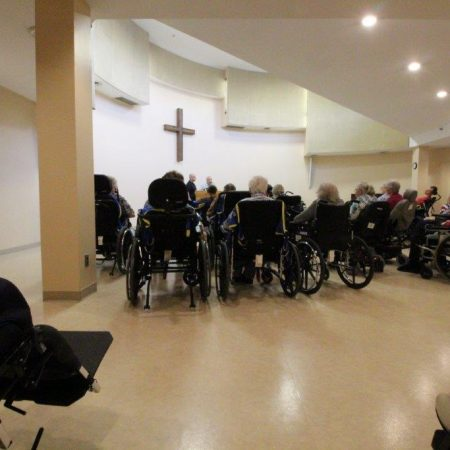 Salem Home Chapel Service