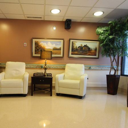 Nursing Home Lounge