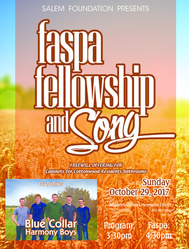 Salem Foundation Faspa, Fellowship & Song
