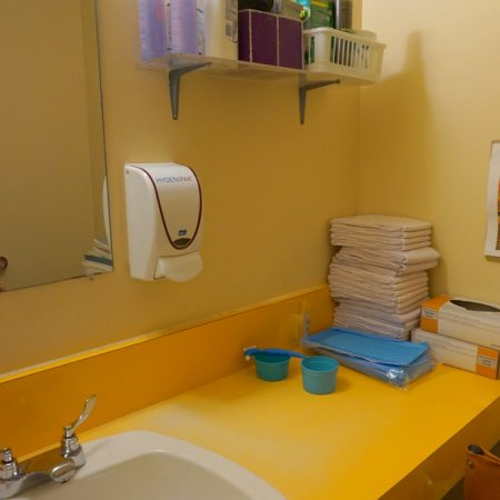 Image of Resident Room – Bathroom Cabinetry